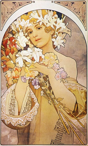 Art Deco Woman Poster