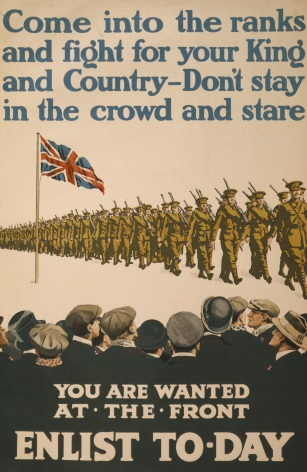 Vintage England Ww1 Poster