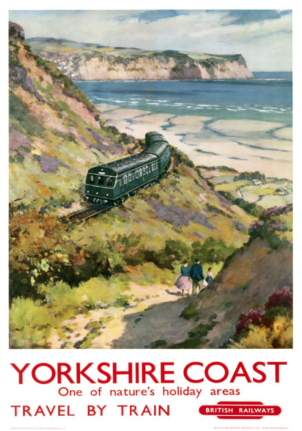 Yorkshire Joint Coaches 1939 Trips to BLACKPOOL Retro Travel Poster A1A2A3A4Size