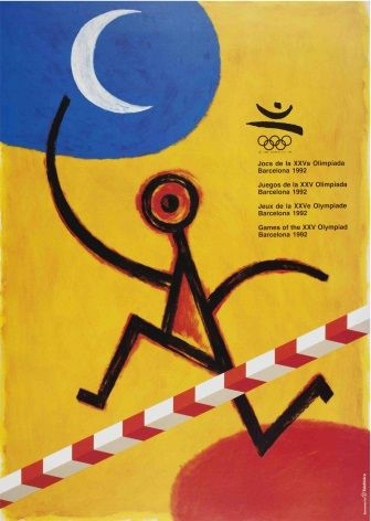 Barcelona Olympic Games poster 1992
