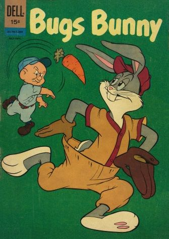 Vintage Children's magazine cover - Bugs Bunny, May