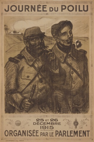 Vintage French WW1 poster - Journée du Poilu