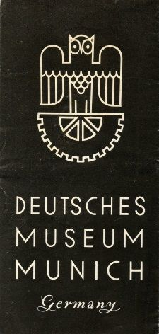Vintage German poster - Deutsches Museum Munich 1936