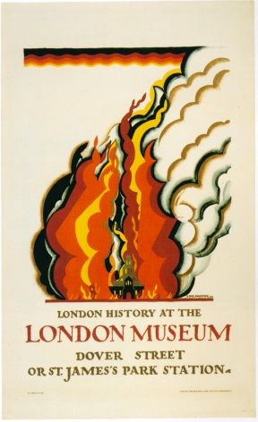 Vintage London underground poster - London Musuem