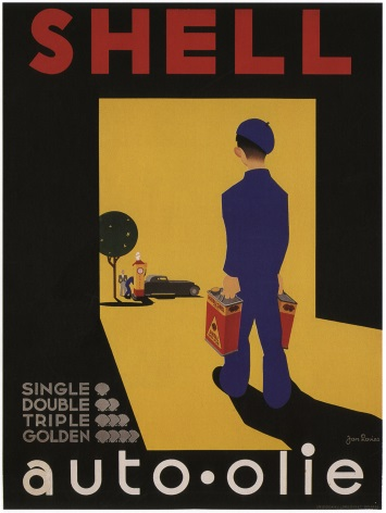 Vintage Shell Advertising Poster