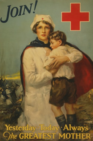 Vintage War Poster Join! Yesterday - today - always--The greatest mother