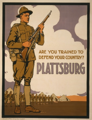Vintage World War Poster