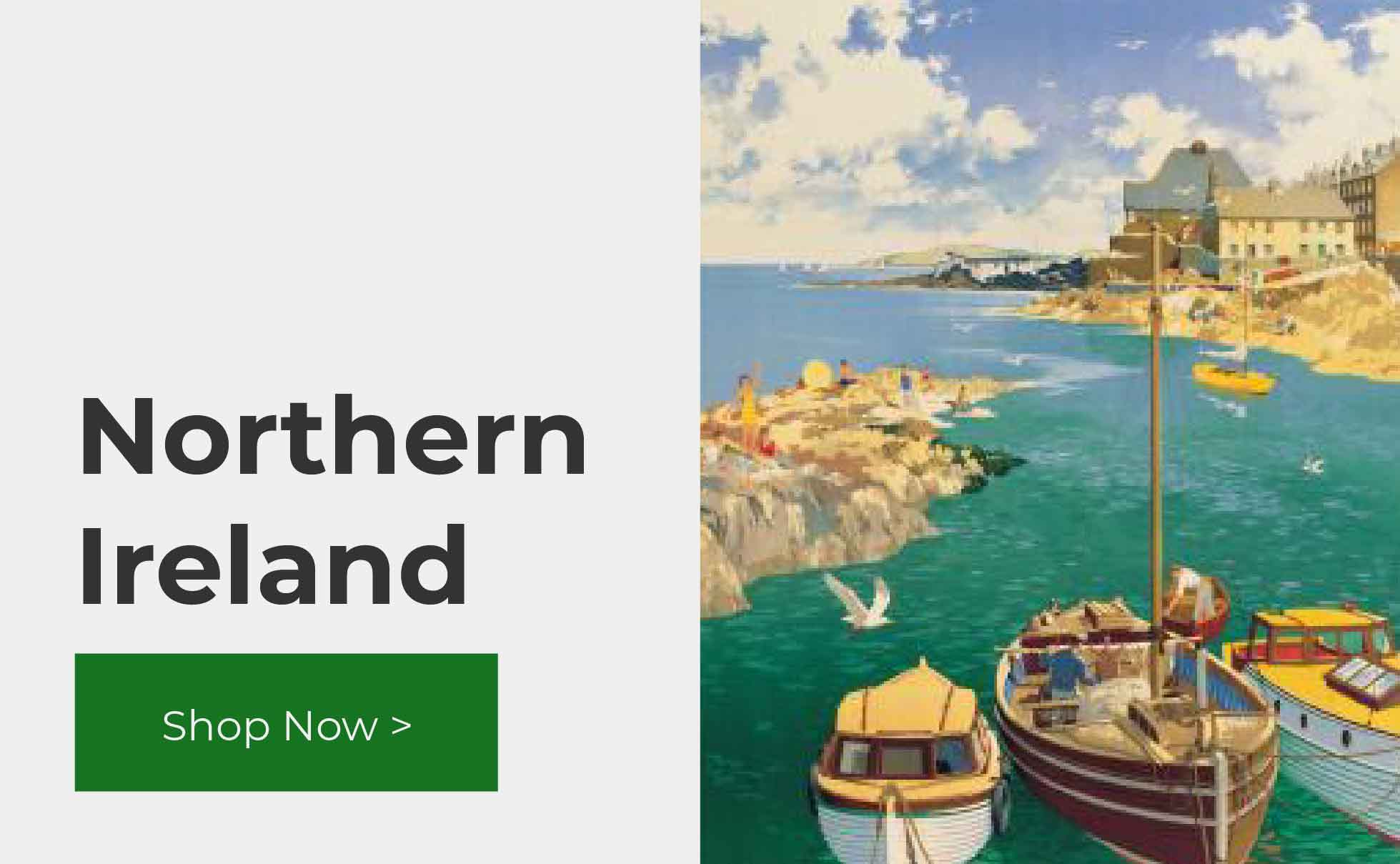 Shop northern irish vintage travel posters